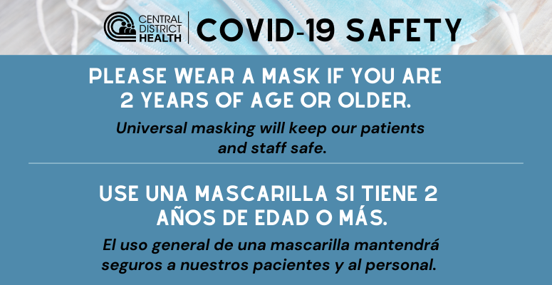 COVID Safety Measures at CDH