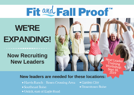 fit and fall proof leaders